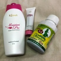 Great Discounts for a Set of Kacip Fatimah Feminine Wash, Manjakani Gel and Vagina Wand