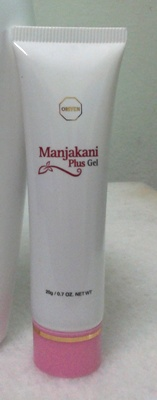 Manjakani gel for fast vaginal lubrication and tightening.